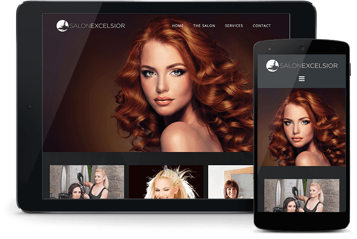 Salon Excelsior - Website Services - Total Loyalty Solutions