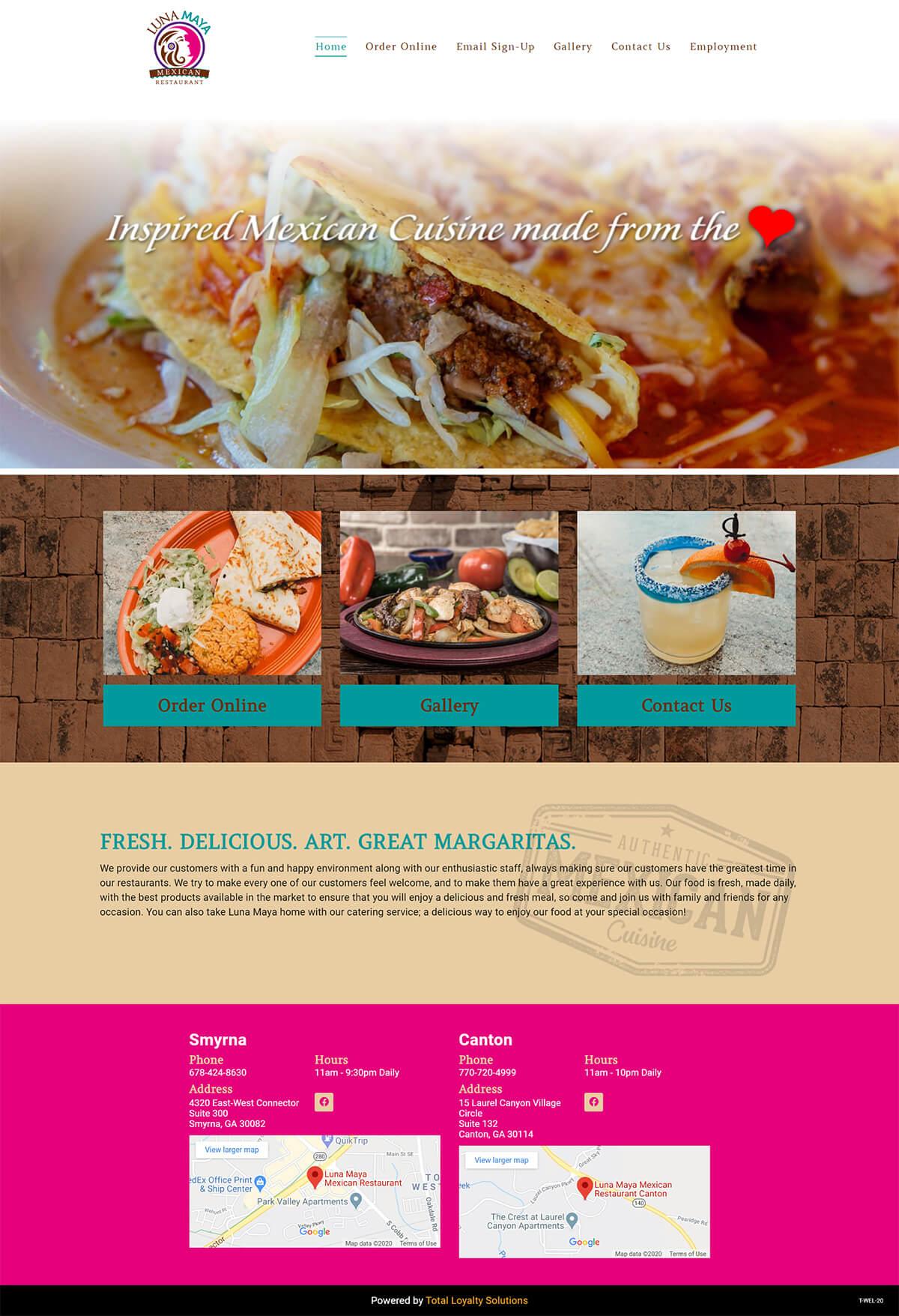 Luna Maya Atlanta - TLS Mobile Friendly Website