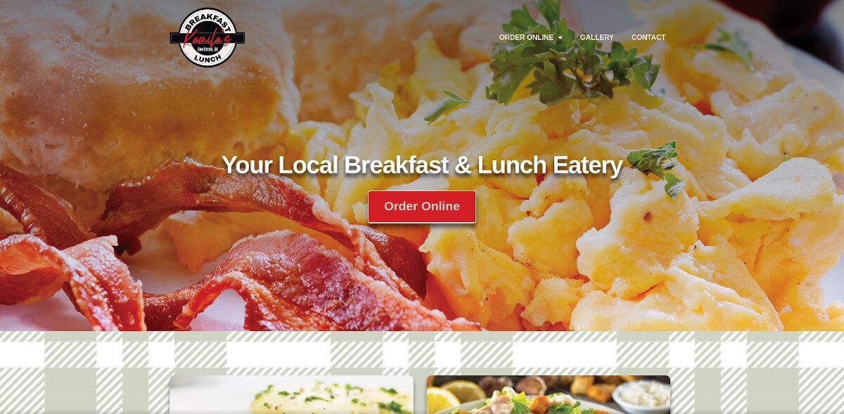 Kamila's Breakfast & Lunch - TLS Mobile Friendly Website
